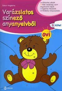 Varázslatos színező anyanyelvből - OVI B kötet