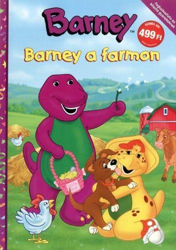 Barney a farmon - Foglalkoztató és kifestő gyerekeknek
