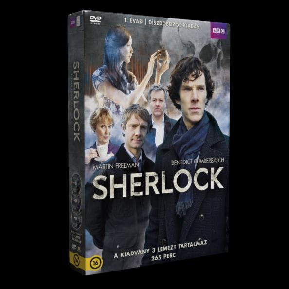 Sherlock díszdoboz 1. évad - 3 DVD