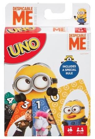 Gru 3 UNO kártya