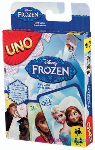 UNO kártya - Frozen - Jégvarázs
