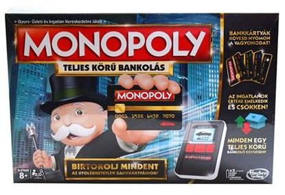Monopoly - Teljes körű bankolás társasjáték