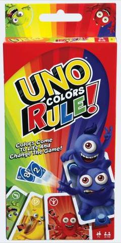 Színerő UNO kártyajáték