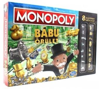 Monopoly Bábu Őrület társasjáték -  pdf epub