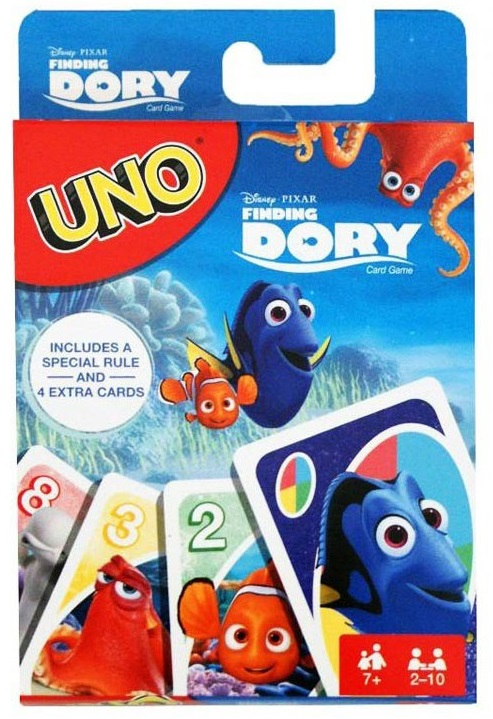 Szenilla nyomában UNO kártya