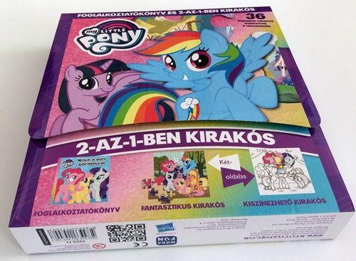 My Little Pony - Foglalkoztatókönyv és 2-az-1-ben kirakós