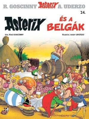 Asterix 24. - Asterix és a belgák - Albert Uderzo pdf epub