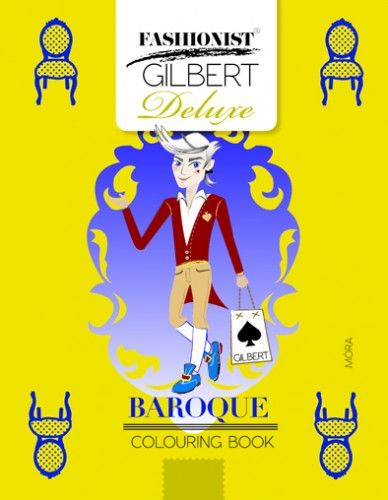 Baroque Colouring Book - Fashionist Gilbert Deluxe