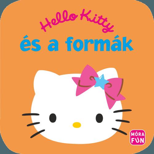 Hello Kitty és a formák habkönyv