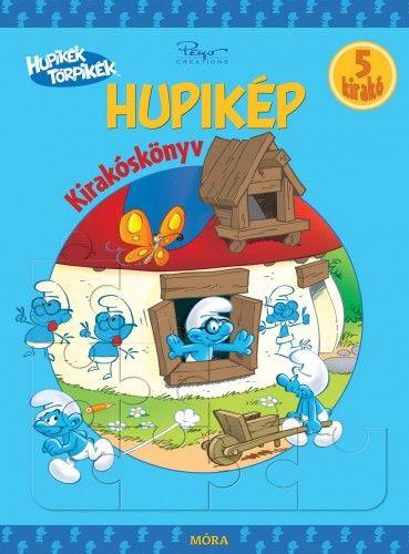Hupikék törpikék - Hupikék kirakóskönyv - Peyo |