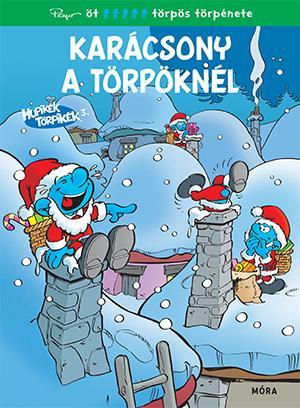 Hupikék törpikék képregény - Karácsony a törpöknél