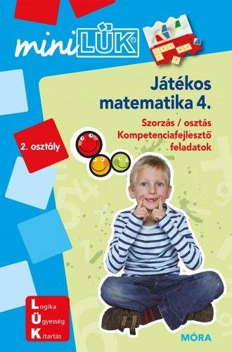 Játékos matematika 4. - Szorzás/ osztás - miniLÜK
