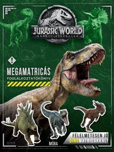 Jurassic World - Bukott Birodalom – Megamatricás foglalkoztató -  pdf epub