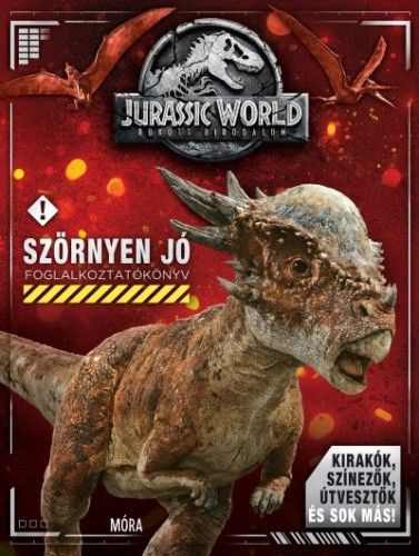 Jurassic World - Bukott Birodalom - Foglalkoztatókönyv