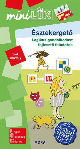 Észtekergető - Logikus gondolkodást fejlesztő feladatok 3-4. osztály - MinilLÜK -  pdf epub