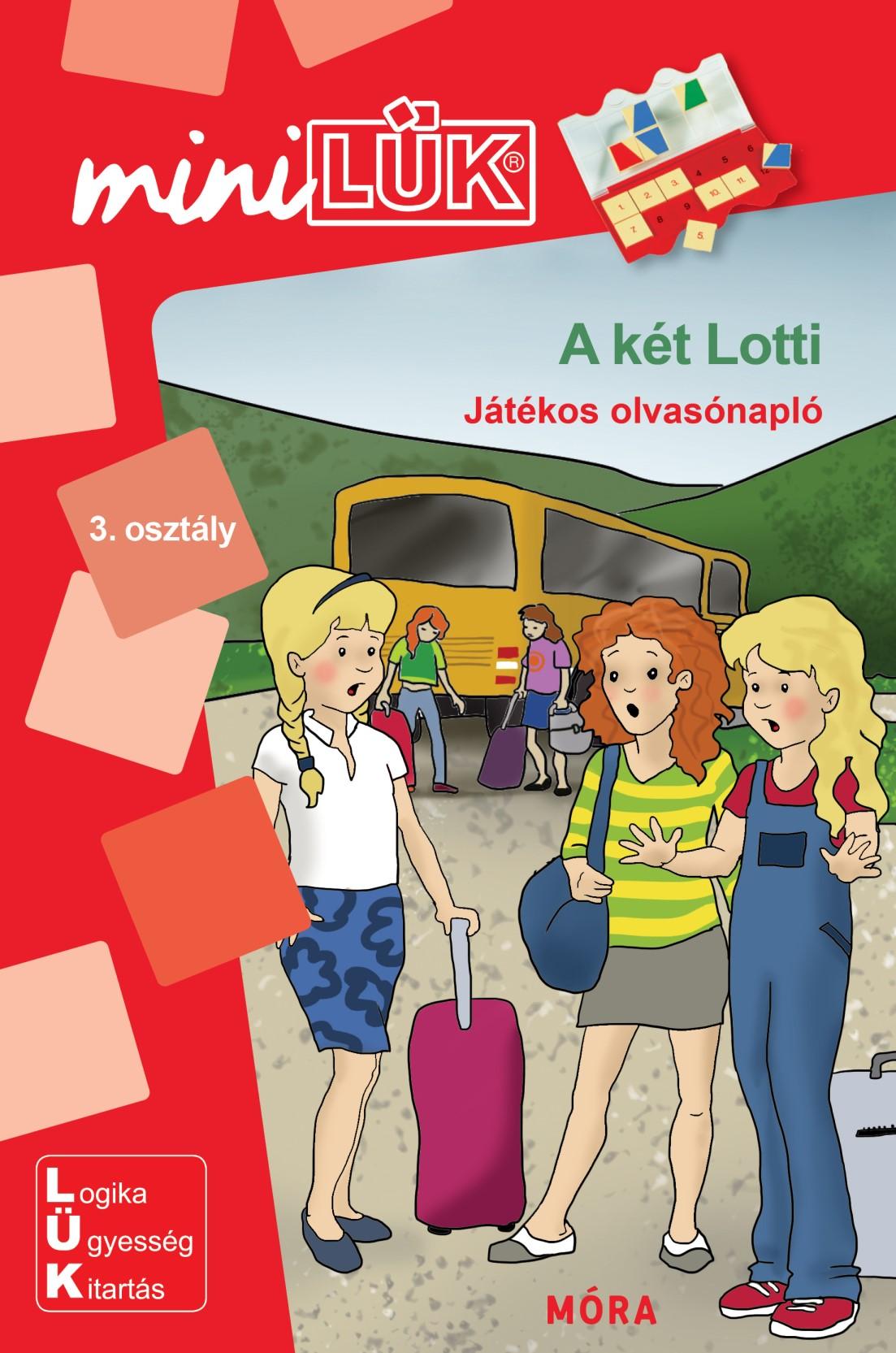 A két Lotti - Játékos olvasónapló - MiniLÜK - Móra EDU