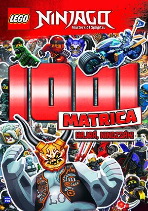 LEGO Ninjago 1001 Matrica – Hajrá, nindzsák! -  pdf epub