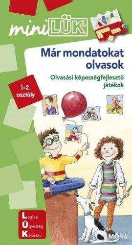 Már mondatokat olvasok - LDI249 - Olvasási képességfejlesztő játékok - miniLÜK