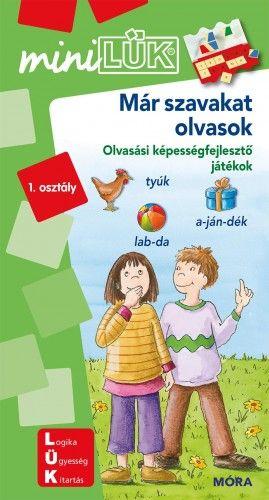 Már szavakat olvasok - LDI248 - Olvasási képességfejlesztő játékok - miniLÜK