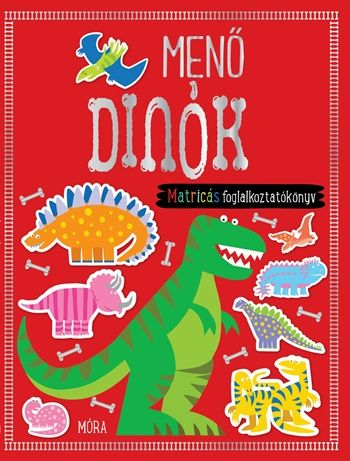 Menő dinók - matricás foglalkoztatókönyv -  pdf epub