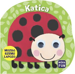 Mozgó szemű lapozó Katica