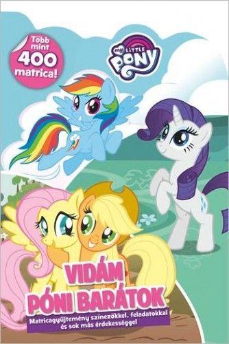 My Little Pony - Vidám póni barátok -  pdf epub