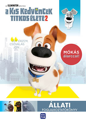 Kis kedvencek titkos élete 2. - Állati foglalkoztatókönyv - kivehető maszkkal