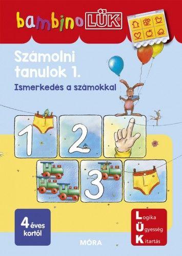 Számolni tanulok 1. - Ismerkedés a számokkal - Bambino Lük