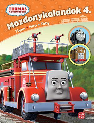 Thomas - Mozdonykalandok 4. -  pdf epub