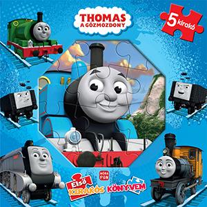 Thomas, a gőzmozdony - Első kirakós könyvem