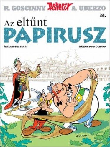 Asterix 36. - Az eltűnt papirusz -  pdf epub