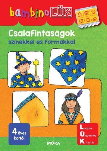 Csalafintaságok színekkel és formákkal - BambinoLÜK -  pdf epub