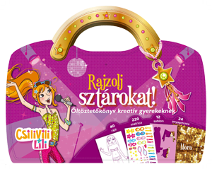 Csilivili Lili - Rajzolj sztárokat! -  pdf epub