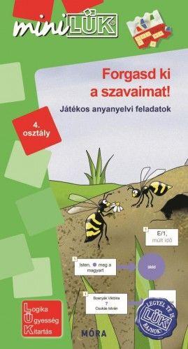 Forgasd ki a szavaimat! - játékos anyanyelvi feladatok 4. osztály