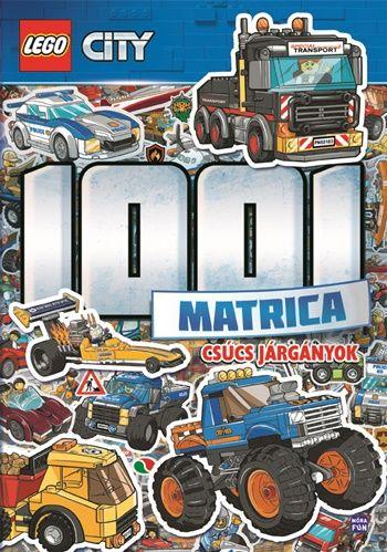 LEGO City 1001 Matrica - Csúcs járgányok