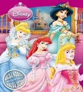 Disney Hercegnők vízes A/4 - kifestő