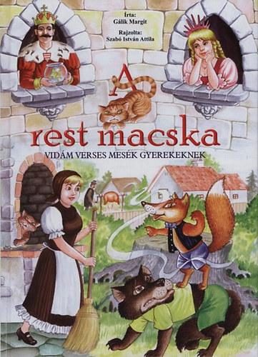 A rest macska - Vidám verses mesék gyerekeknek