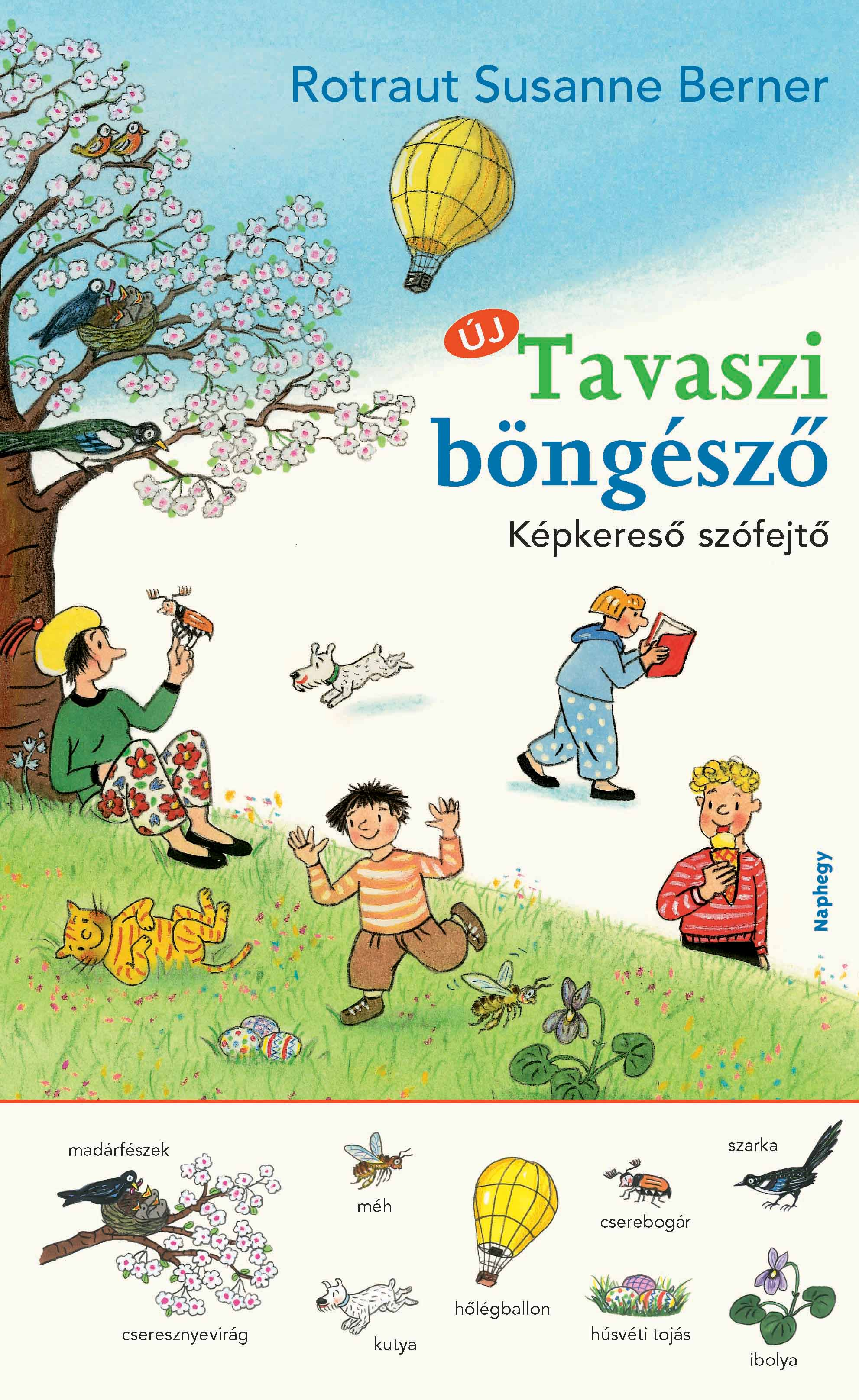 Tavaszi böngésző - Képkereső szófejtő