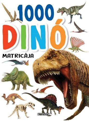 1000 dinó matricája - Fehér