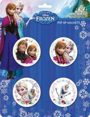 Disney: Frozen - pop-up mágnes