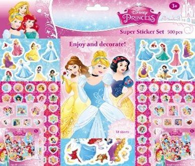 Disney: Princess - matricásfüzet - 500 matrica