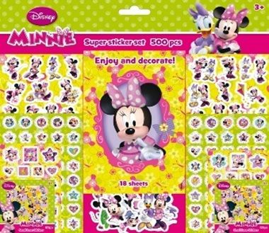 Disney: Minnie - matricásfüzet - 500 matrica