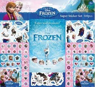Disney: Frozen - matricásfüzet - 500 matrica