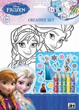 Disney: Frozen - színezőkészlet matricákkal