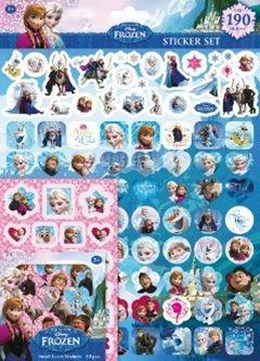 Disney: Frozen - matricáskészlet - 190 matrica