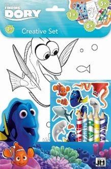 Disney: Dory - színezőkészlet matricákkal