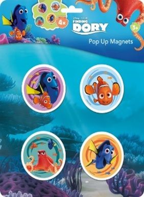 Disney: Dory - pop-up mágnes