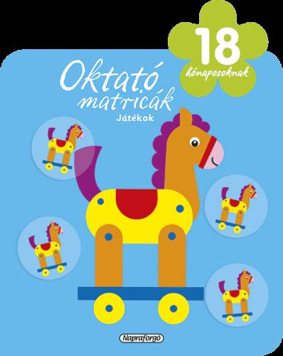 Oktató matricák - Játékok (18 hónaposoknak)