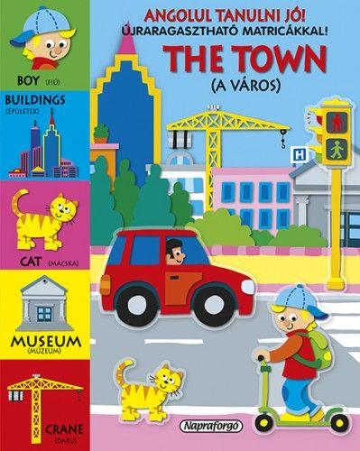 Angolul tanulni jó! - The Town - Újraragasztható matricákkal!