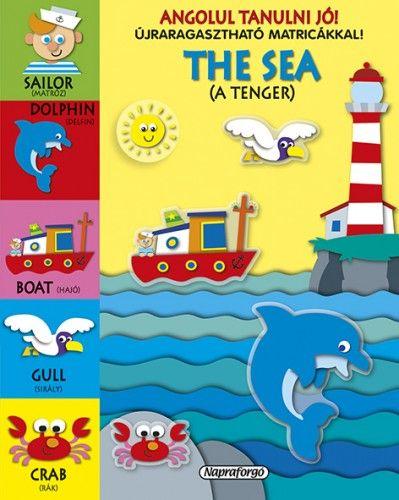Angolul tanulni jó! - The Sea - Újraragasztható matricákkal!